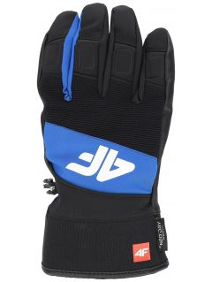 Men's ski gloves REM250 - cobalt blue