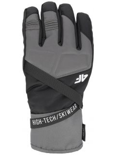 Men's ski gloves REM251 - black