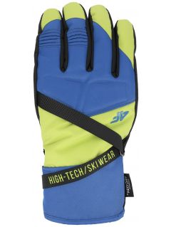 Men's ski gloves REM251 - fresh green