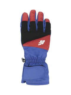 Men's ski gloves REM350 - cobalt blue