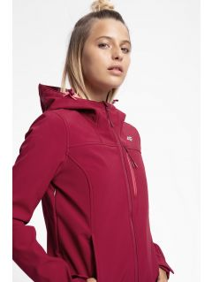 Women's softshell jacket SFD215 - burgundy