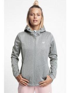 Women's softshell jacket SFD300 - light grey melange