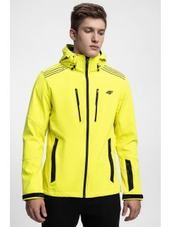 Men's softshell jacket SFM200 - neon yellow