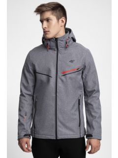Men's softshell jacket SFM206 - grey melange