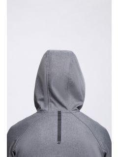 Men's softshell jacket SFM300 - grey melange