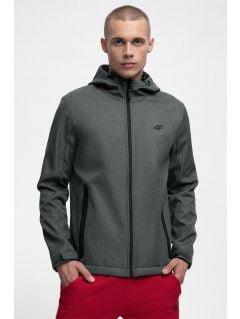 Men's softshell jacket SFM301 - anthracite melange