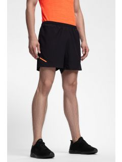 Men's active shorts SKMF253 - black