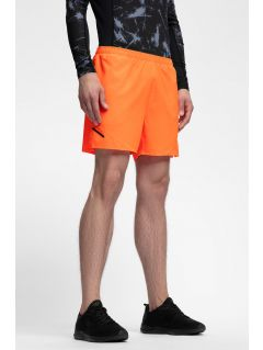 Men's active shorts SKMF253 - neon orange