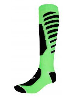Men's ski socks SOMN348 - lime