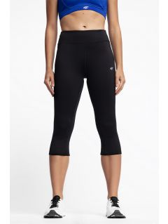 Women's active leggings SPDF300 - black