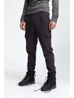 Men's sweatpants SPMD257 - dark grey melange