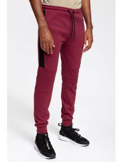Men's sweatpants SPMD259 - burgundy