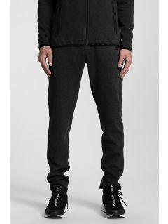 Men's sweatpants SPMD302 - black melange