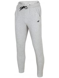 Men's sweatpants SPMD302 - light grey melange