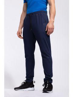 Men's sweatpants SPMD302 - navy melange