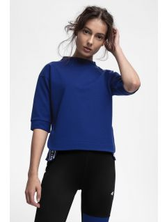 Women's sweatshirt TSD210 - cobalt blue