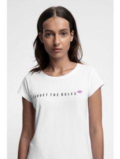 Women's T-shirt TSD217 - biały