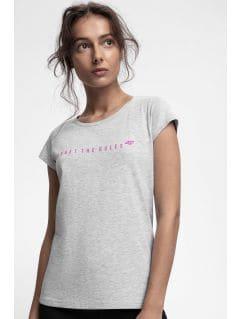 Women's T-shirt TSD217 - light grey melange