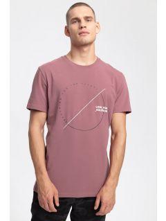 Men's T-shirt TSM269 - burgundy