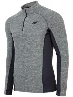 Men's fleece underwear (top) BIMP002 - grey melange