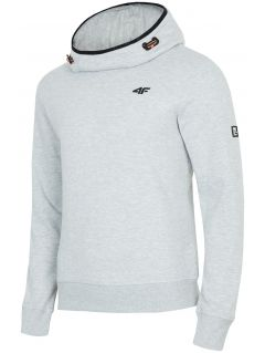 Men's hoodie BLM003 - grey melange