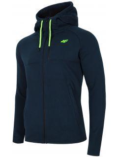 Men's hoodie BLM006 - navy melange