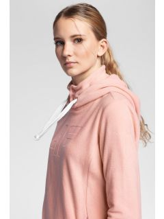 Women's fleecehoodie PLD004 - light pink