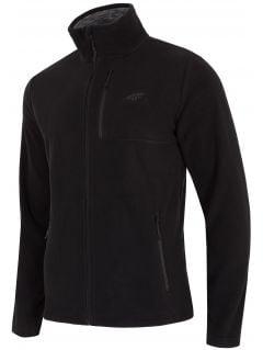 Men's fleece sweatshirt PLM001 - black
