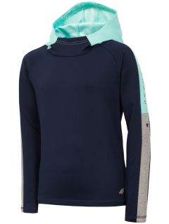 Sweatshirt for girls JBLD400 - navy
