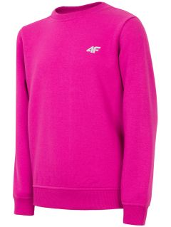 Sweatshirt for older children (girls) JBLD211 - violet