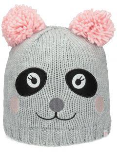 Hat for younger children (girls) JCAD102 - medium grey