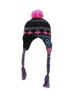 Hat for younger children (girls) JCAD103 - black