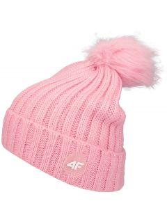 Hat for older children (girls) JCAD220 - pink