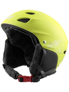 Ski helmet for older children (boys) JKSM400 - green