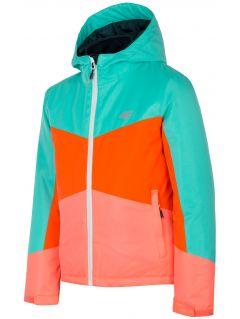 3in1 jacket for older children (girls) JKUD204 - multicolor allover