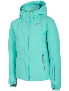 Ski jacket for older children (girls) JKUDN400a - mint
