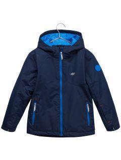 Ski jacket for younger children (boys) JKUMN302 - navy