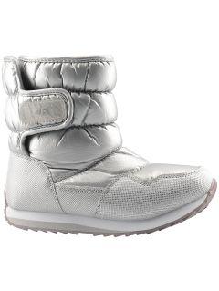 Winter boots for older children (girls) JOBDW205 - silver