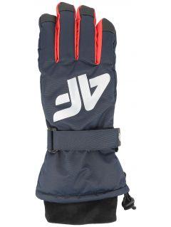 Ski gloves for older children (boys) JREM404 - navy