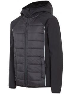 Softshell jacket for older children (boys) JSFM403 - black