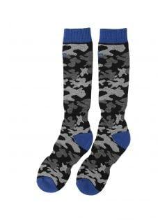 Ski socks for older children (boys) JSOMN402 - multicolor