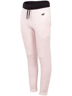 Sweatpants for younger children (girls) JSPDD101 - light pink