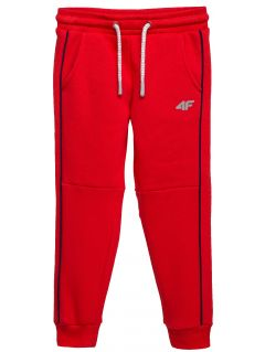 Sweatpants for younger children (boys) JSPMD104 - red