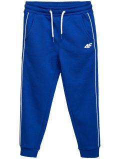 Sweatpants for younger children (boys) JSPMD105 - cobalt blue