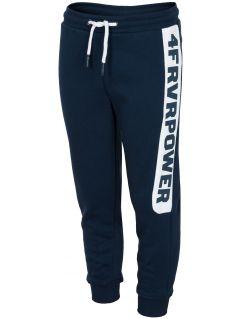 Sweatpants for older children (boys) JSPMD212 - navy