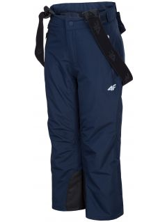 Ski pants for younger children (boys) JSPMN300 - navy