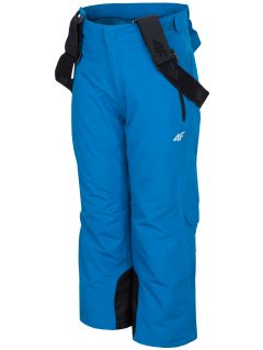 Ski pants for younger children (boys) JSPMN300 - cobalt blue