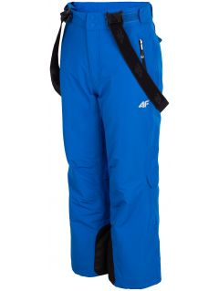 Ski pants for older children (boys) JSPMN400 - cobalt blue
