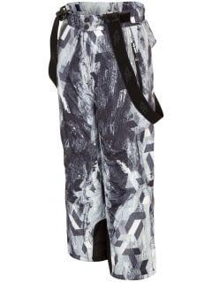 Ski pants for older children (boys) JSPMN401 - multicolor allover