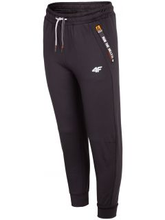 Active pants for older children (boys) JSPMTR404 - black